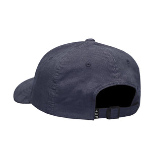 HUF Marka Cv 6 Panel Hat Mens Cap Insignia Blue
