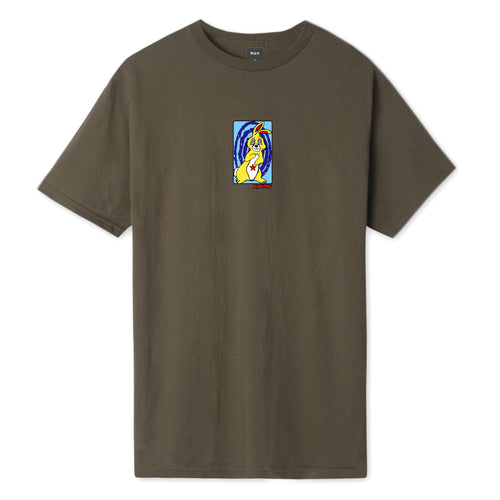 HUF Messed Up Bunny T-Shirt Chocolate