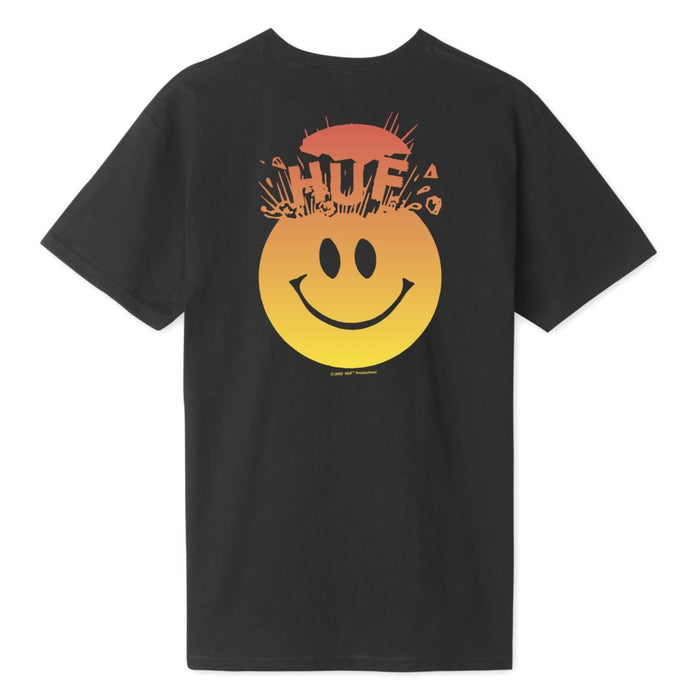 HUF Mens Mind Blown T-Shirt Black