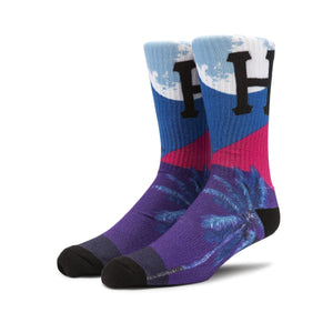 HUF Mirage Sock Grape