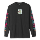 Load image into Gallery viewer, HUF Monarch Long Sleeve T-Shirt Black