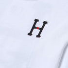 Load image into Gallery viewer, HUF Monogram Classic H Long Sleeve T-Shirt White