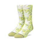 Load image into Gallery viewer, HUF Neo Leopard Plantlife Sock Mens Sock Hot Lime