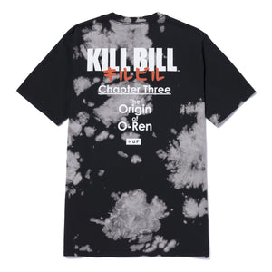 Huf Origin Tiedye T-shirt Black