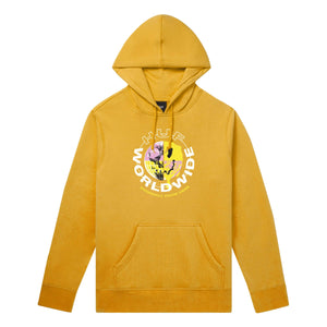 Huf Oxy Pullover Hoodie Electric Orange