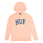 Load image into Gallery viewer, HUF Paisley Hoodie Mens Hoodie Coral Pink