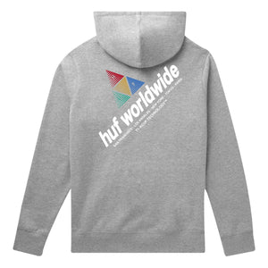 HUF Peak Sportif Pullover Hoodie Grey Heather
