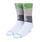 Load image into Gallery viewer, HUF Peak Stripe Sock White