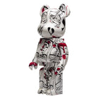 Load image into Gallery viewer, HUF Phil Frost Bearbrick 1000 White