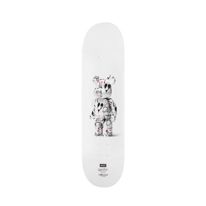 HUF Phil Frost Bearbrick Deck White