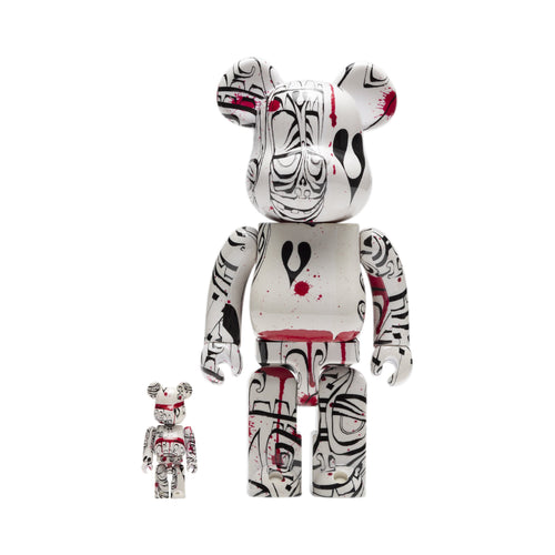 HUF Phil Frost Bearbrick Set White
