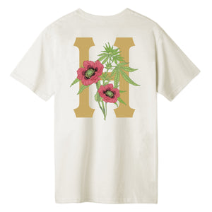 HUF Planta Classic H T-Shirt Unbleached