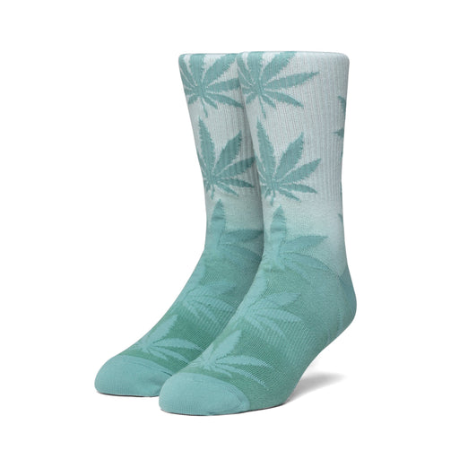 HUF NEO LEOPARD PLANTLIFE SOCK MENS SOCK HOT LIME