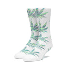Load image into Gallery viewer, Huf Plantlife Melange Leaves Sock White