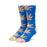HUF PLANTLIFE TIEDYE LEAVES SOCK OLYMPIAN BLUE