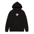 Load image into Gallery viewer, HUF Plastic Heart Pullover Hoodie Black
