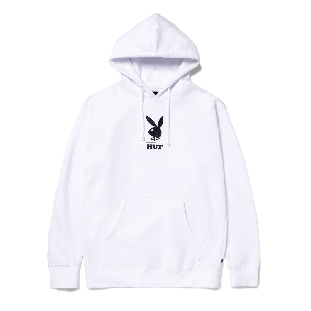 Playboy May88 Cover Pullover Hoodie White