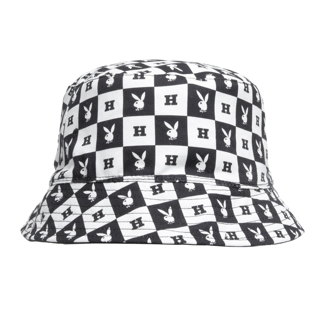 Playboy Reversible Bucket Hat Black