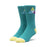 HUF PRISM TRIANGLE SOCK MENS SOCK QUETZAL GREEN