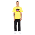Load image into Gallery viewer, HUF Pulp T Shirt Mens Printed Tee Blazing Yellow