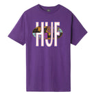 Load image into Gallery viewer, HUF Quake USA T-Shirt Grape