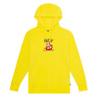 Load image into Gallery viewer, HUF See You In Hell Pullover Hoodie Mens Hoodie Blazing Yellow