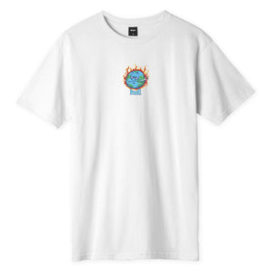 Huf Sick Sad World T-shirt White