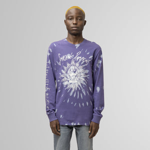 HUF SIVE LONG SLEEVE T-SHIRT VIOLET