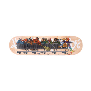 HUF Skid Row Team Board Natural