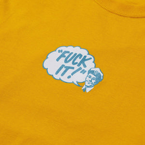 HUF Special Delivery Long Sleeve T-Shirt Gold