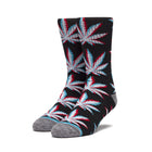 Load image into Gallery viewer, Huf Static Plantlife Sock Black