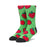 HUF STRAWBERRY SOCK SHAMROCK