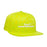 HUF STREET CAT SNAPBACK CAP MENS CAP HOT LIME