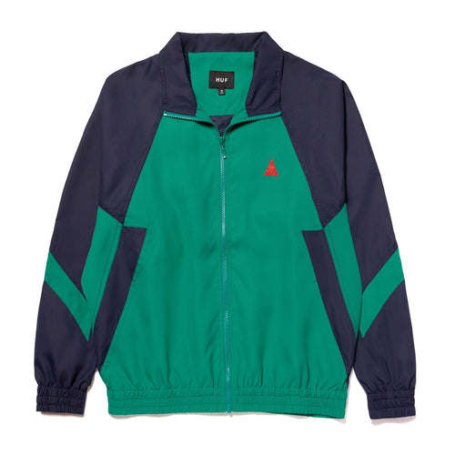 Huf Switzer Track Jacket Navy Blazer