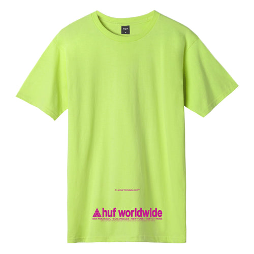 Huf Taking Control T-shirt Bio Lime