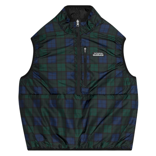 HUF Taos Revsible Vest Mens Jacket Insignia Blue