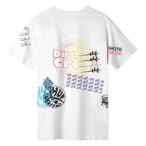 HUF Test Print T-Shirt White