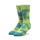 Load image into Gallery viewer, HUF Tie Dye Plantlife Sock Mens Sock Quetzal Green