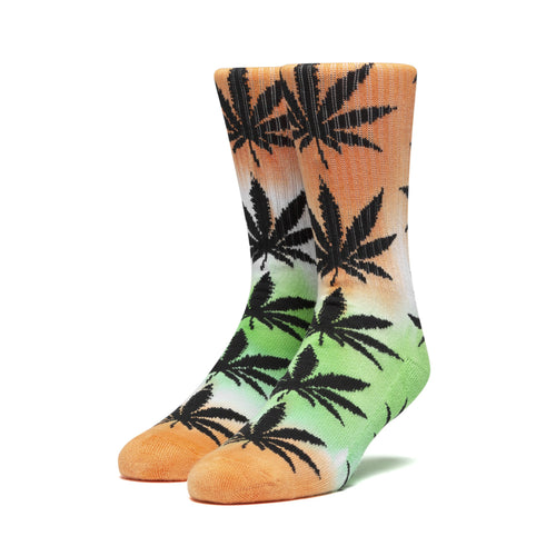 Huf Tiedye Plantlife Sock Electric Orange