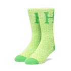 Load image into Gallery viewer, HUF Tonal Quake Sock Mens Sock Hot Lime