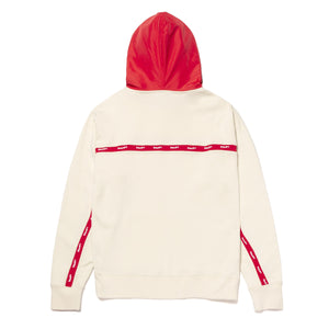 HUF Track Pullover Hoodie Off White