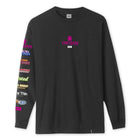 Load image into Gallery viewer, HUF Trojan Pleasure Pack Long Sleeve T-Shirt Mens Black