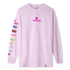 Load image into Gallery viewer, HUF Trojan Pleasure Pack Long Sleeve T-Shirt Mens Pink