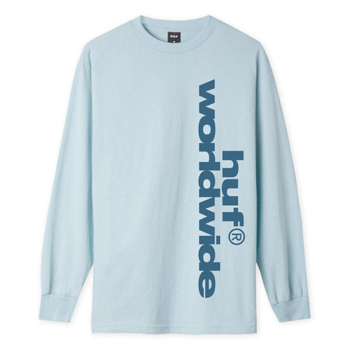 Huf Untitled Long Sleeve T-shirt Light Blue