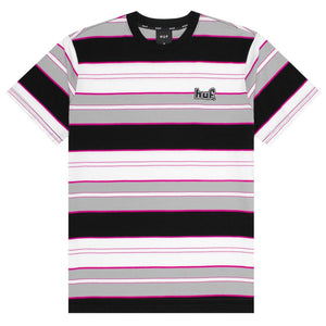 HUF Mens Upland Knit Top Black