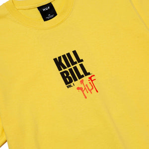 Huf Versus T-shirt Yellow
