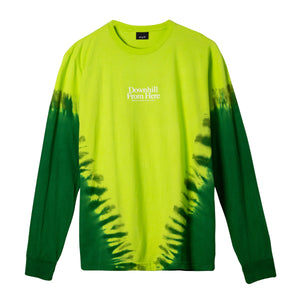 Huf Widow Long Sleeve T-shirt Bio Lime