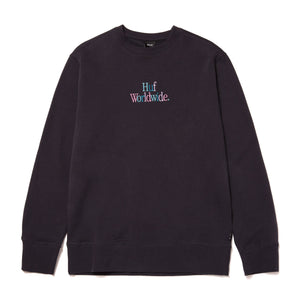 HUF Woz Crewneck French Navy