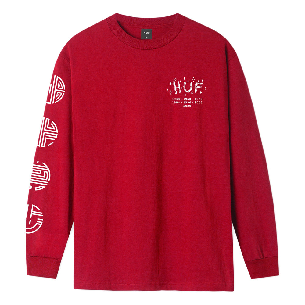 Year of the Rat Long Sleeve T-Shirt Red
