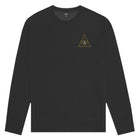Load image into Gallery viewer, Year of the Rat Triple Triangle Crewneck Black
